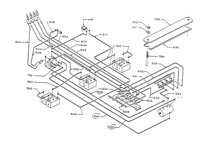81 8436v wiring diagram for 36 volt golf cart readingrat net 36 volt ezgo wiring at crackthecode.co
