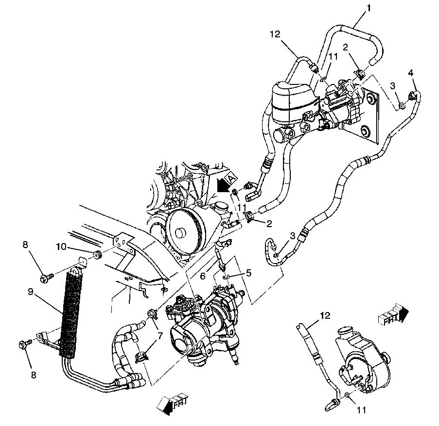 2001 ford f350 hydroboost diagram